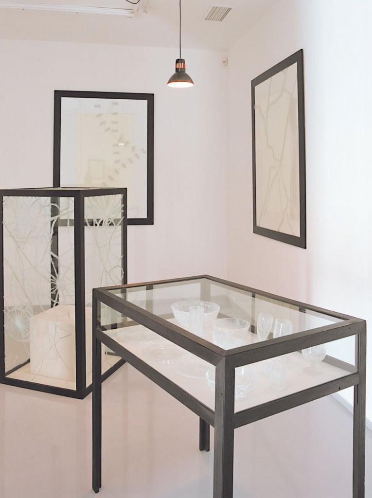 Obras para una exposición Mateo Maté Exposición 1991